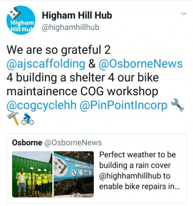 Higham Hill Hub 9